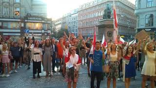 Студенты Чехии прошлись маршем в знак солидарности с Беларусью! Протесты Чехия