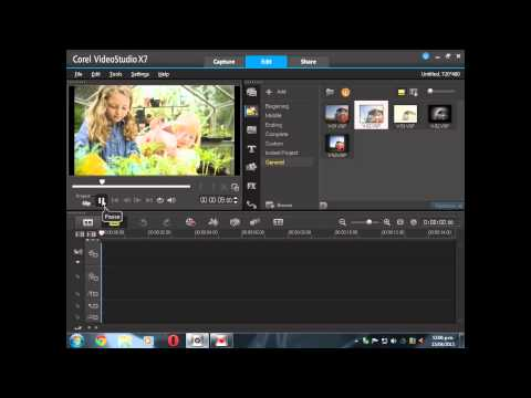 Видеоуроки corel videostudio pro x7