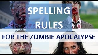 Spelling Rules for the Zombie Apocalypse: Plurals