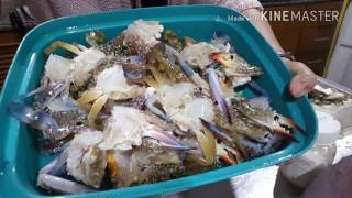วิธีแกะปูสดดองน้ำปลาVS หอยแครง   เพจชื่อ ครัว ออลแลนด์