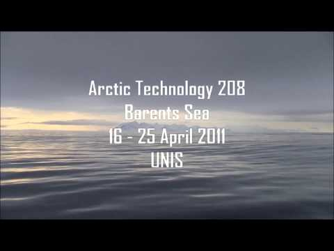 UNIS Actic Technology Student AT-211 Course Expedition. Barents Sea, R/V Lance