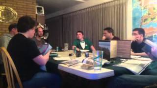 The One Ring Role-playing Game TOR RPG Tolkien Gaming Group Session 1 - 3-15-2013