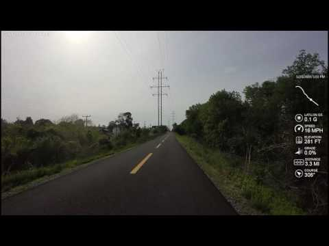 W&OD Trail - Sterling thru Leesburg (12 miles)