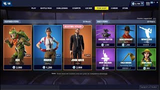 Rex & Maven Skins Back! Fortnite Item Shop May 21, 2019