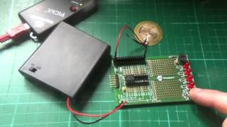 Microchip PIC12F683 as a Variable Frequency Charge Pump (part 1)