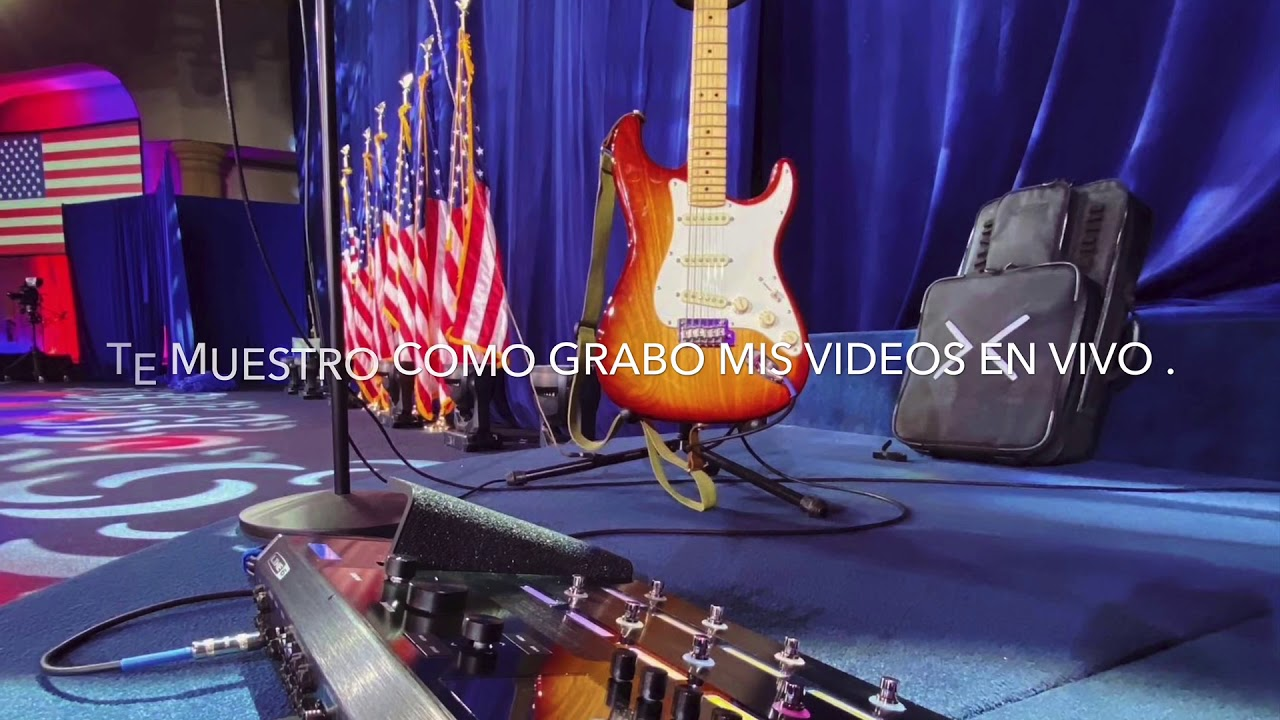 Download Te enseño como grabo mis videos en vivo (GuitarCam) | GoPro - Jorge Fajardo
