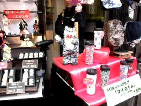 Japan - Kyoto Cat Dancing