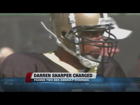 Ex-NFL player Darren Sharper charged with rape in Las Vegas
