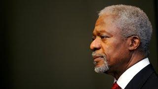 Kofi Annan's life with the UN
