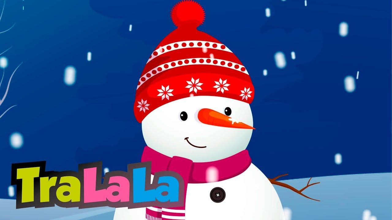 Omul de zăpadă - Cântece pentru copii | TraLaLa