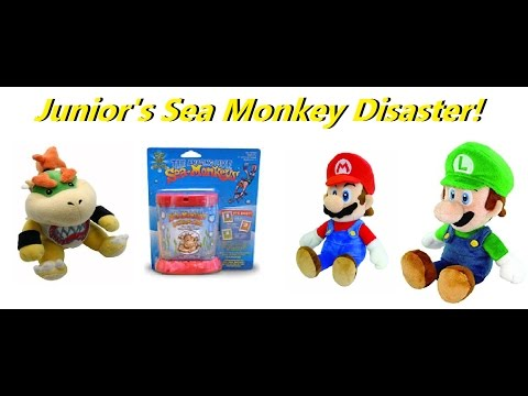 Junior and the Private Eye Plumbers S1 E1: Junior's Sea Monkey Disaster!