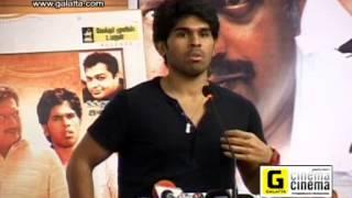 Gouravam press meet