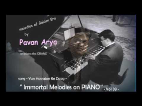 Yun Hasraton Ke Daag - Piano