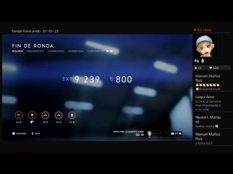 Mi primera vez en vivo Battlefield V