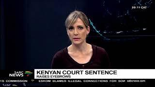 Kenya's beauty queen sentenced to death for boyfriend murder