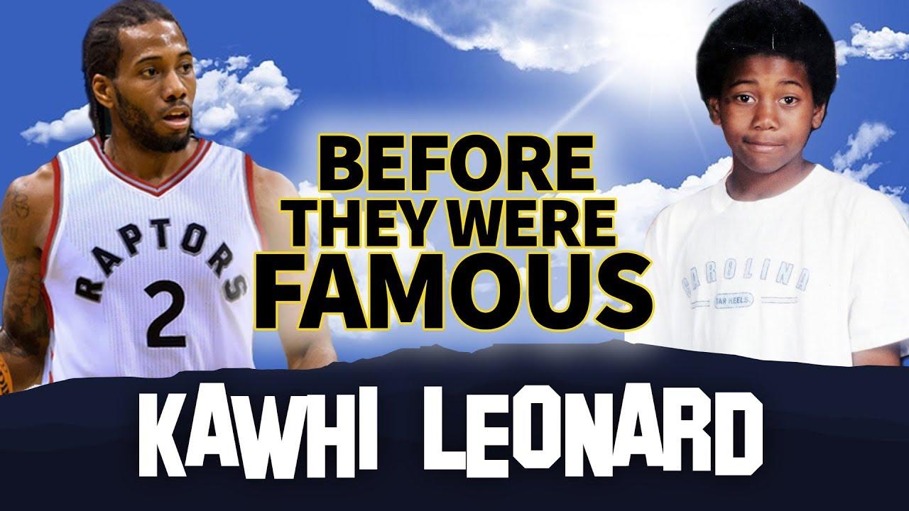KAWHI LEONARD   Before They Were Famous   Toronto Raptors   Biography