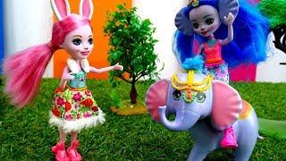 Куклы Энчантималс в зоопарке. Идеи для кукол - Мультики для девочек