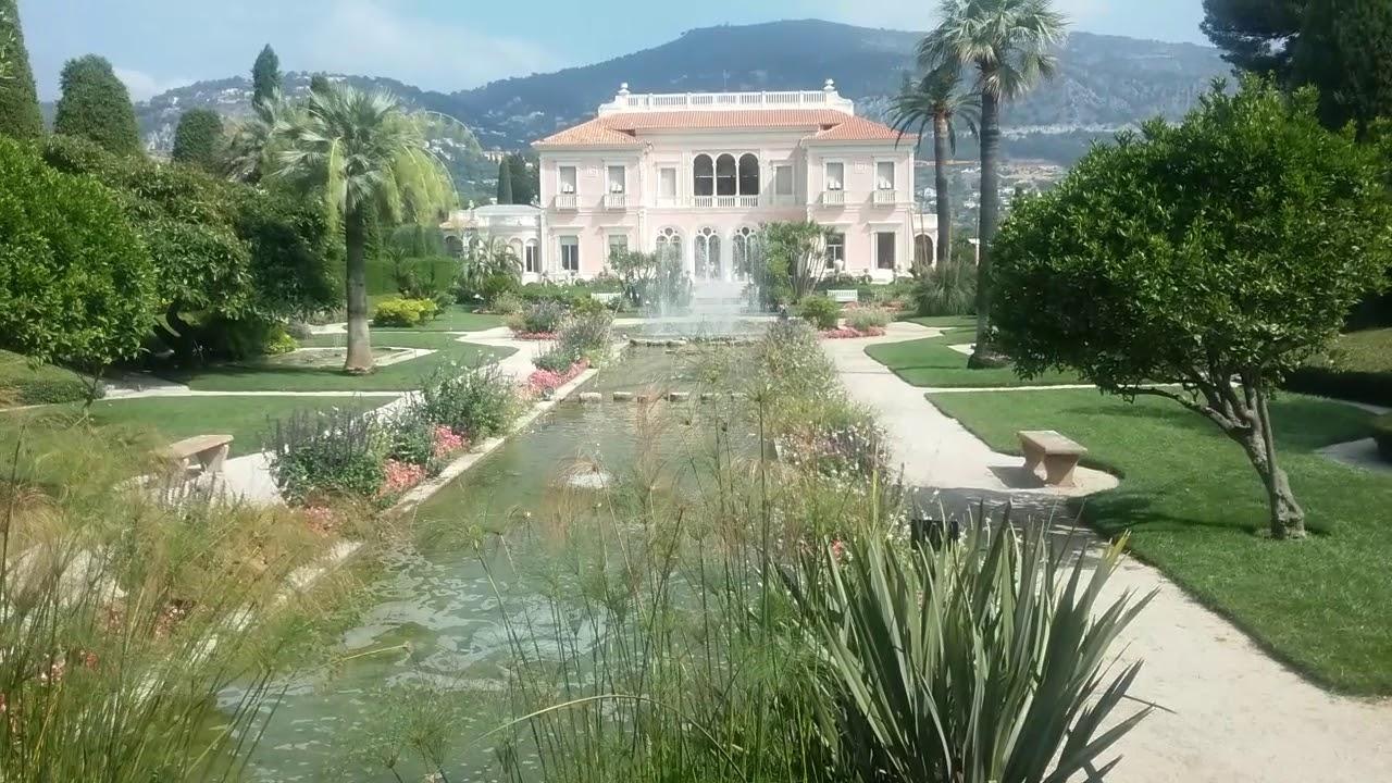 Jardin Villa Ephrussi de Rothschild - YouTube
