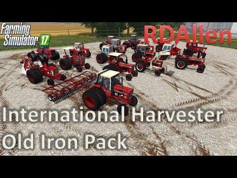 International Harvester Old Iron Pack - Farming Simulator 17 Mod Review