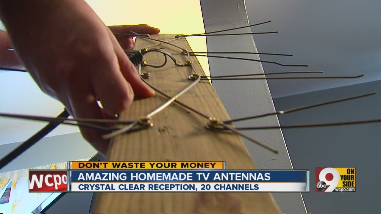 How to make a home antenna