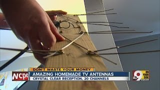 How to get HD channels with a homemade antenna