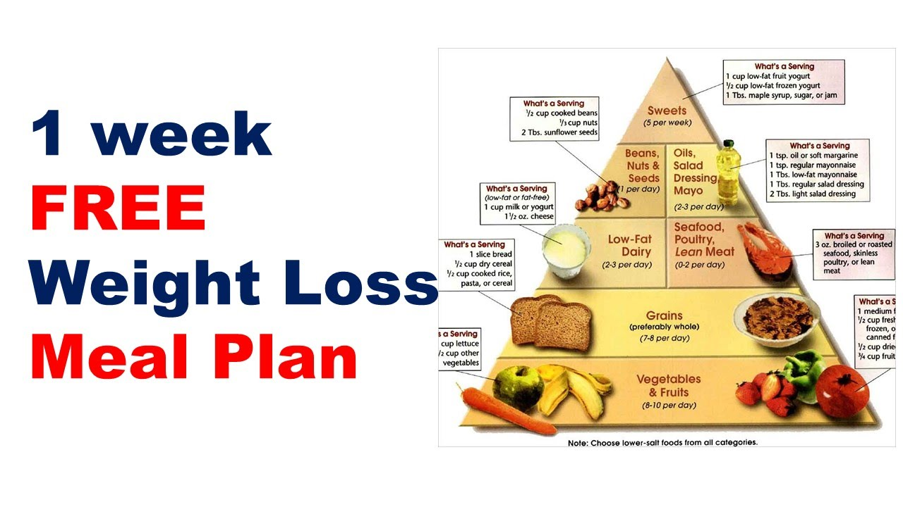 Free Weight Loss Meal Plan Diet Plan For Weight Loss Meal Plan For