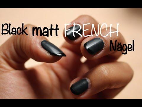 black matt french n gel deutsch youtube
