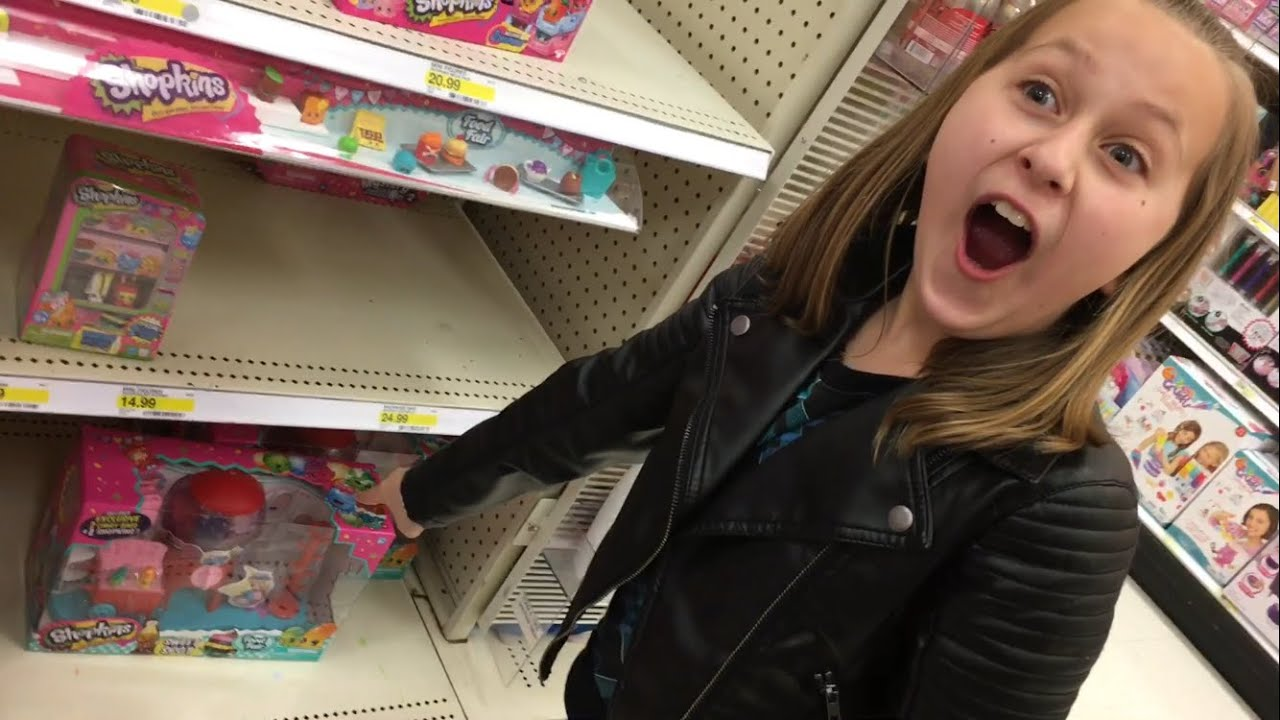 Target Toys For Girls : Epic reactions toy hunt at target new shopkins super