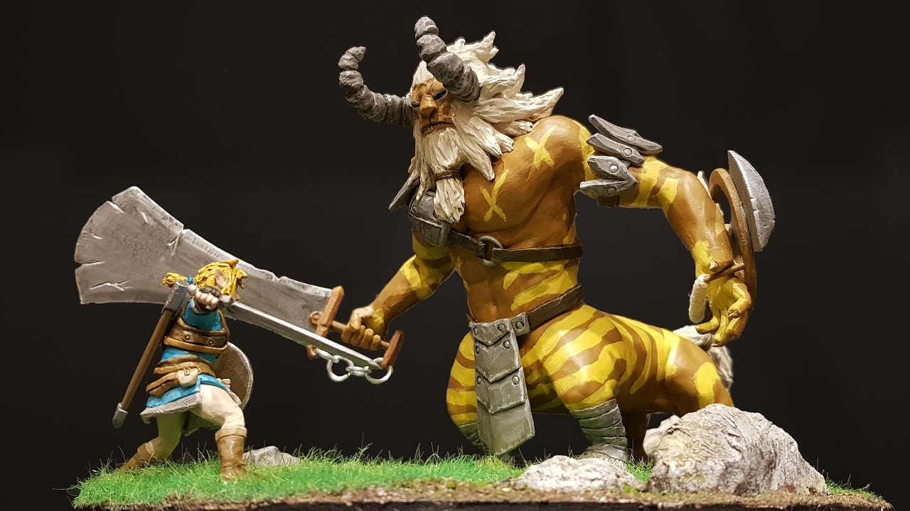 How to Make Link vs a Lynel / Breath of the Wild / Polymer Clay