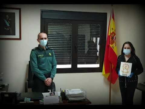 Video de la Guardia Civil de Córdoba celebrando su 175 aniversario en la Comandancia Provincial