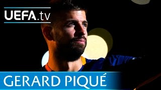 Gerard Piqué - Watch the Spain and Barcelona star in action