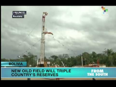 New Oil Discoveries To Triple Bolivia's Reserves