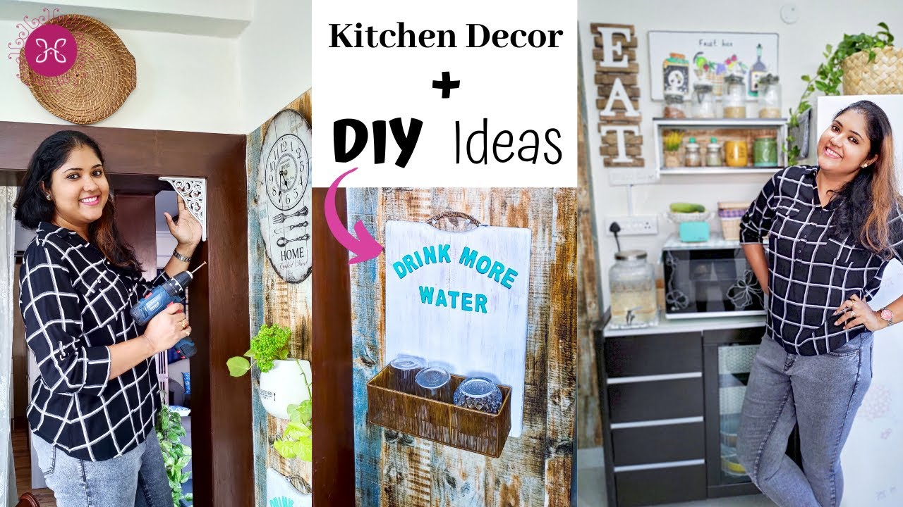 Amazing Ideas To Decorate Your Kitchen Diy Ideas Kitchen Decorating Ideas Youtube