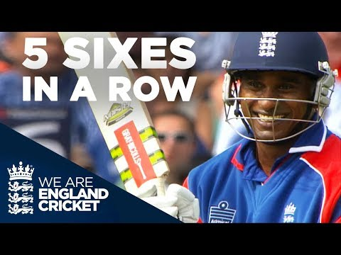 5-sixes-in-a-row!-mascarenhas-smashes-yuvraj-|-england-v-india-2007---highlights