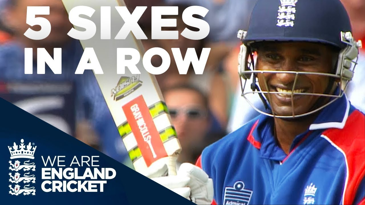 Download 5 Sixes In A Row! Mascarenhas Smashes Yuvraj    England v India 2007 - Highlights
