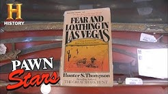 Pawn Stars: CRAZY Origin Story of Fear & Loathing Autograph (Season 8) | History