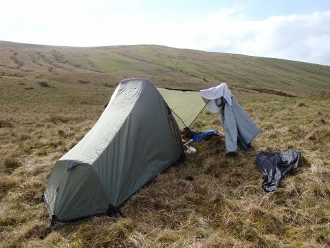 BRECON BEACONS WILD CAMP 2015 - Trek, Kit, Vista Views, Body Fuel/Hydration Info