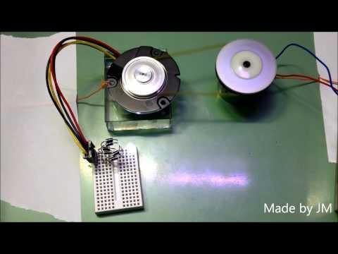 HDD motor generator - YouTube on