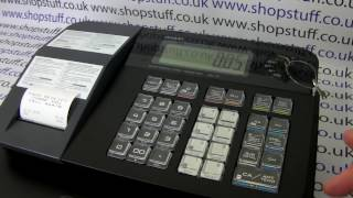 For more information visit: https://www.shopstuff.co.uk casio se-g1 video tutorial on basic operation including how to process department and plu sales.