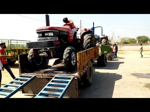 Mahindra Arjun 605 Tractor In Kamana Tractor Tochan Competition