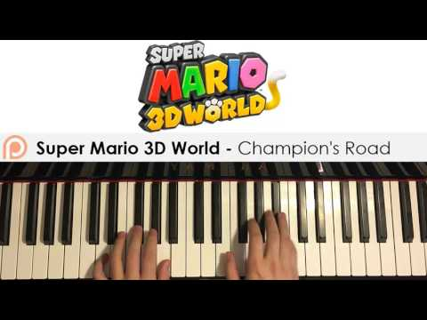 Super Mario 3D World - Champion's Road (Piano Cover)   Patreon Dedication #123