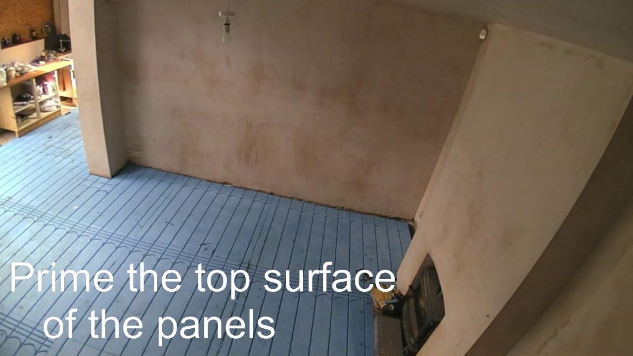Underfloor heating installation youtube underfloor heating installation dailygadgetfo Choice Image