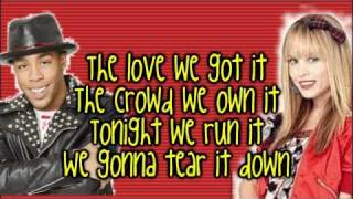 Camp Rock 2   Meaghan Martin and Matthew Finley   Tear it down {LYRICS ON SCREEN} HD