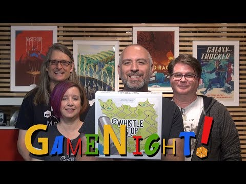 Whistle Stop - GameNight! Se5 Ep19