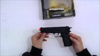 Pistola Airsoft Browning HP Spring 6mm ABS