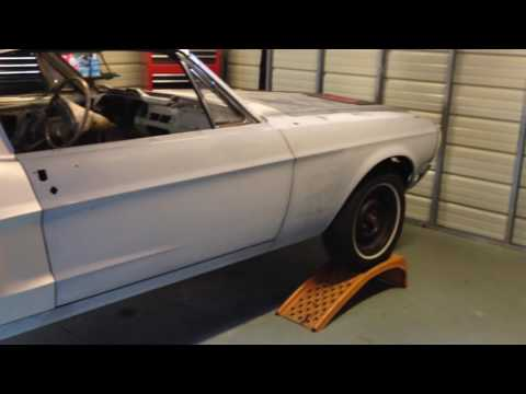 1968 Mustang coupe to fastback  conversion