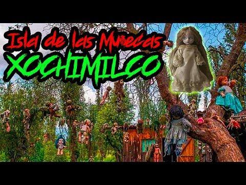 LA ISLA DE LAS MUÑECAS EN XOCHIMILCO / Relatos