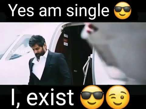 Yes I'm single.