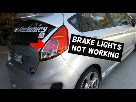 Ford Focus Mk1 Rear Light Wiring Diagram A Switch And Outlet Brake Lights Do Not Work How To Fix Youtube