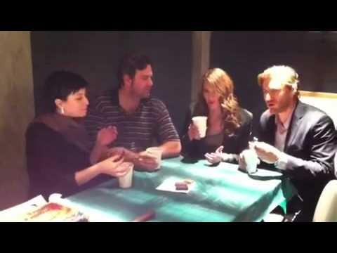 Castle BTS  Stana Katic: Tim Tam Slam with Brett Tucker